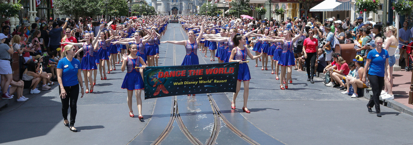 Dancers Dancing at Disney