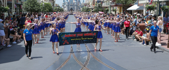 Dancers Dancing at Disney