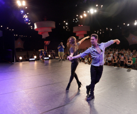 Dance Master Class Workshop at Disney