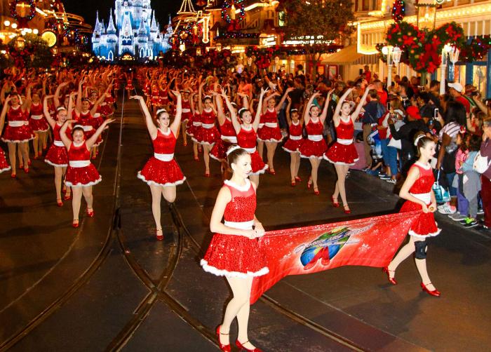 Dancers performing at the Walt Disney World Resort