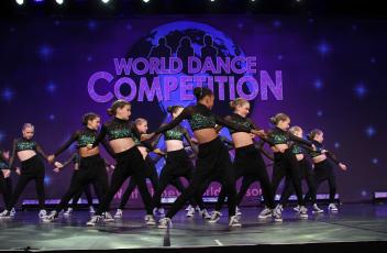 Dancers Competing at Disney
