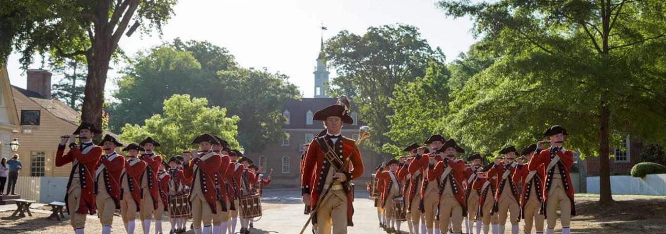 Colonial Williamsburg, Virginia 1