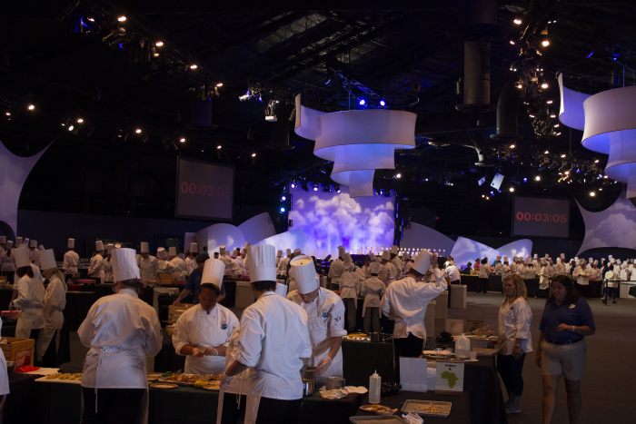 Cook Around The World Culinary Competition