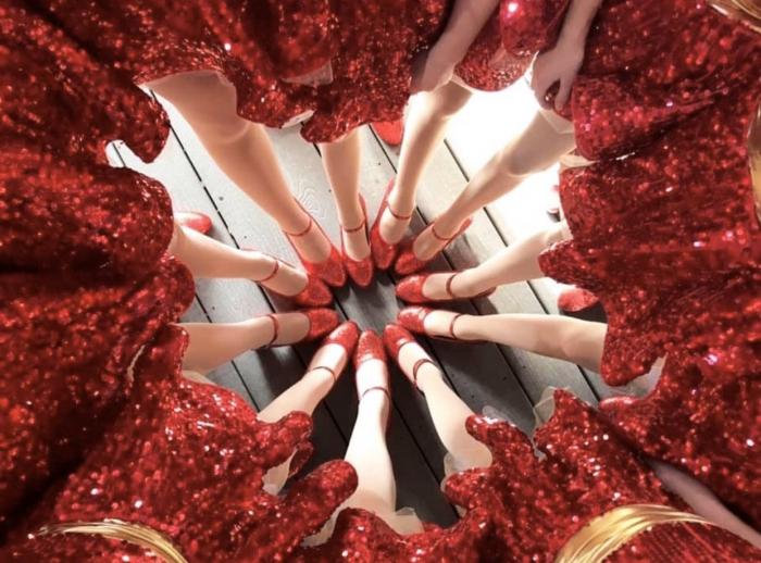 Dancers at Disney