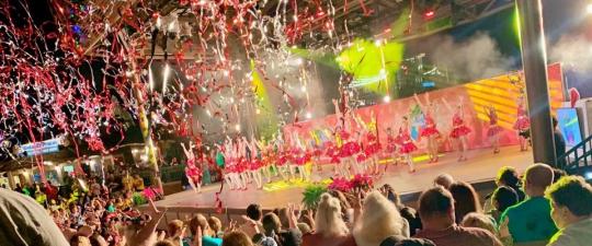 Dancers at Disney Springs