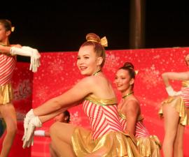 Dancers Performing at Disney Springs